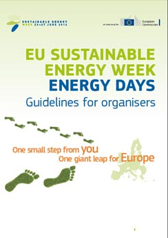 Download de EUSEW folder (in het Engels) EU Sustainable Energy Week EUSEW, 23 - 27 juni 2014, EU Brussel